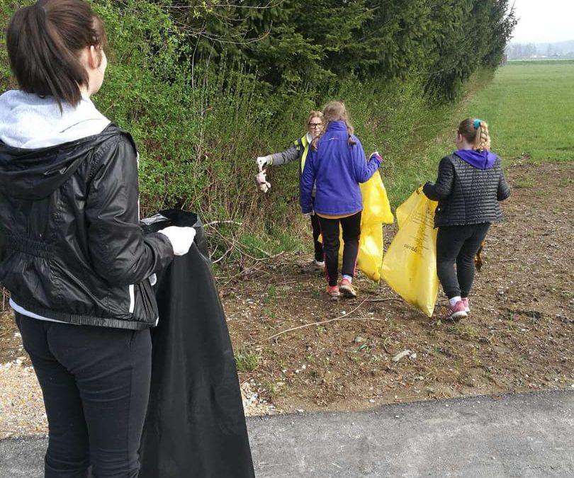 Pomladansko urejanje in čiščenje okolice