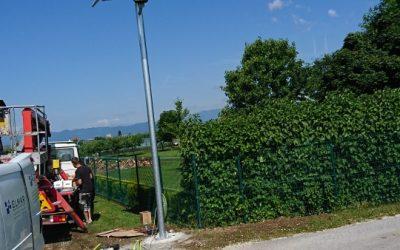 Postavljanje solarne svetilke