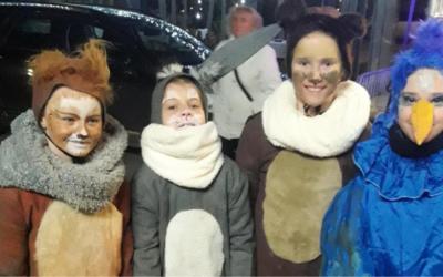 Predstava Zimska Pravljica ter srečanje z božičkom